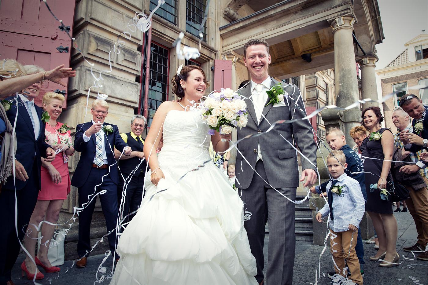 Bruiloft Joyce en Joey