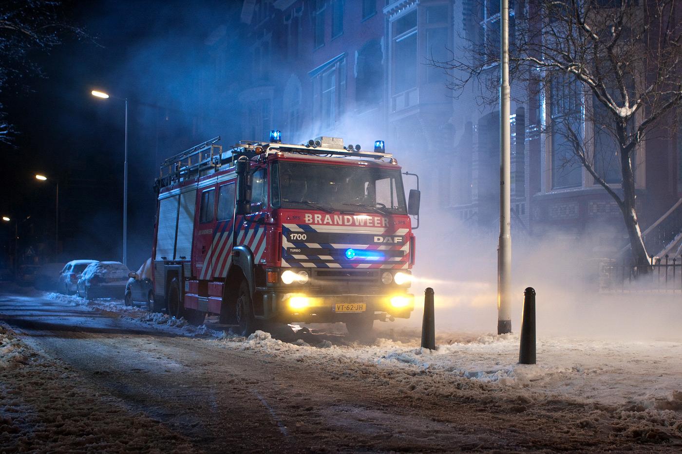 westwijk brandweerauto