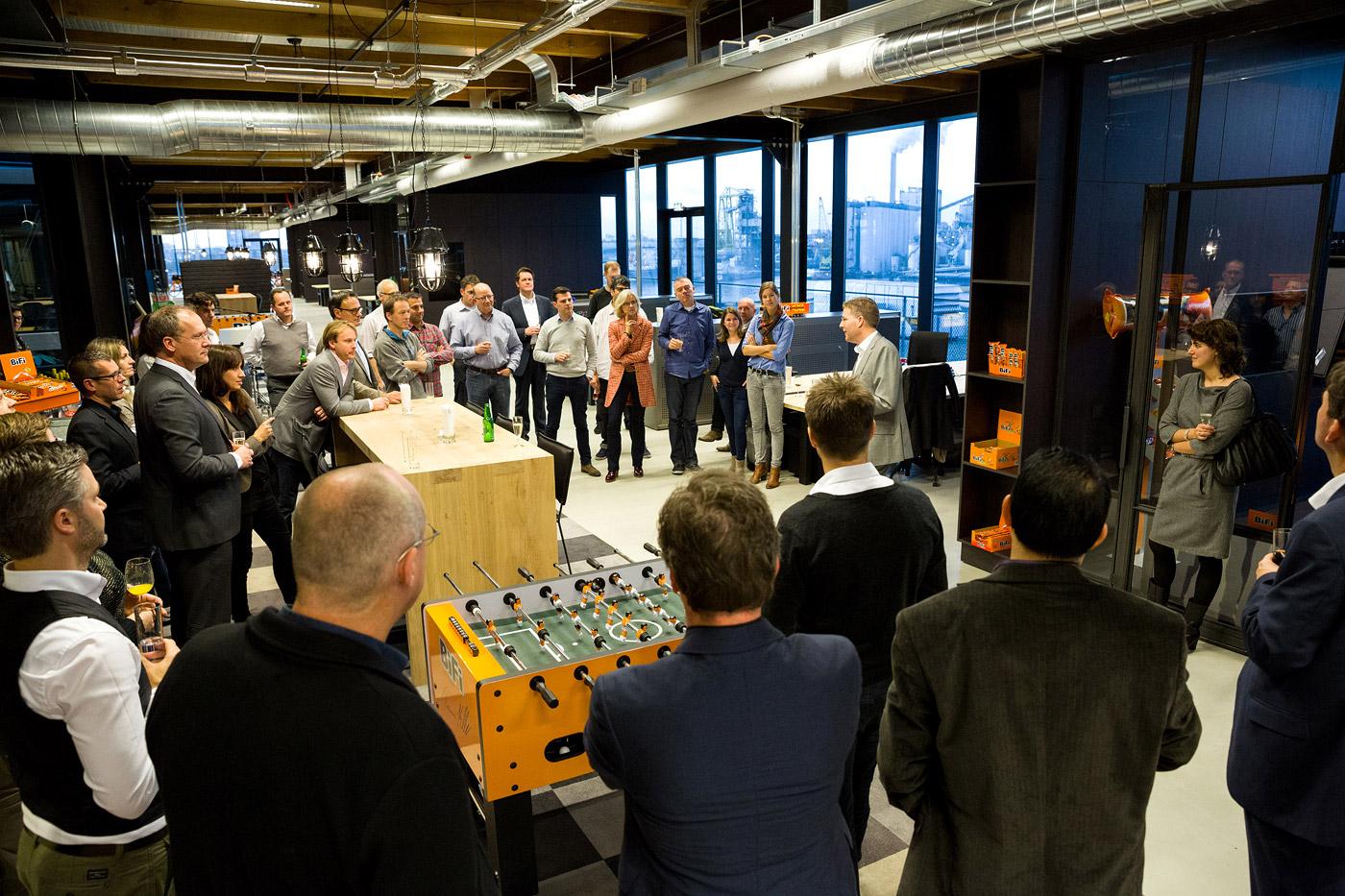 jacklinks-bifi-peperami-amsterdam-feest-receptie-hoofdkantoor-opening-reception